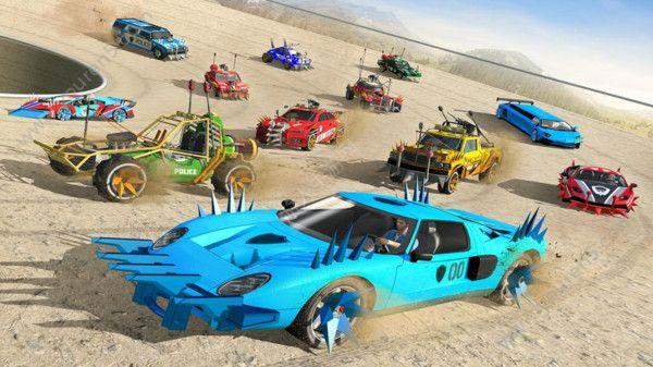車禍賽車模擬器游戲安卓版截圖1