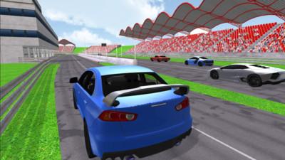 智能AI賽車駕駛游戲安卓版截圖1