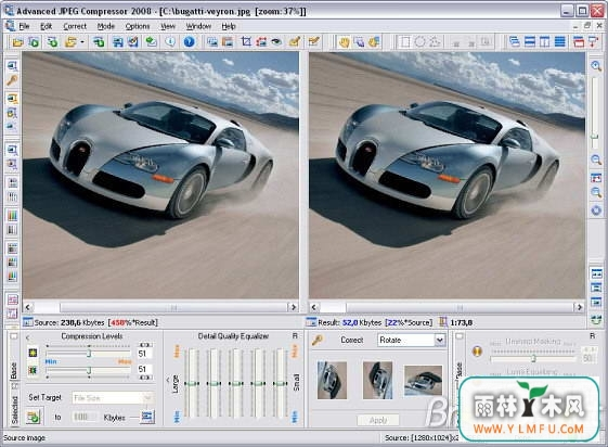 Advanced JPEG Compressor 2010(圖片壓縮工具)V4.6官方版