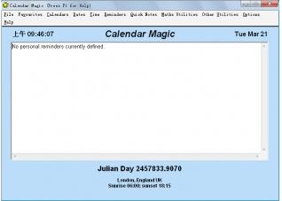Calendar Magic 19.0免費版