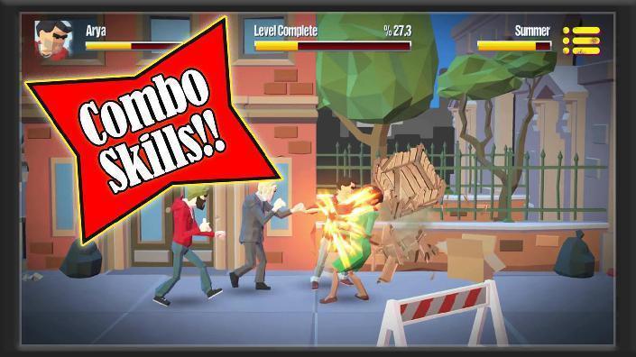 城市战士与街头帮派游戏