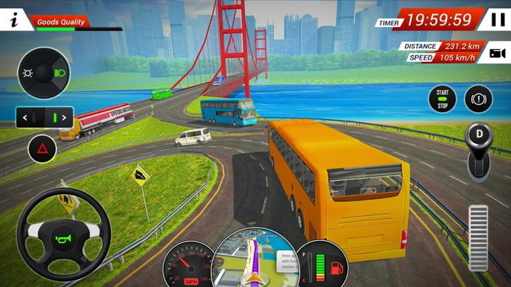 2018年公交车驾驶模拟器