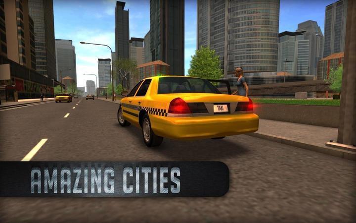 出租車模擬2016無限金幣版