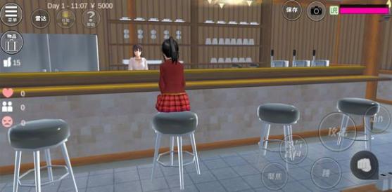 樱花校园模拟器中文版咖啡厅