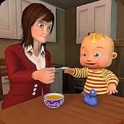 母模拟器3D:虚拟婴儿模拟器游戏