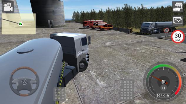 奔驰卡车模拟