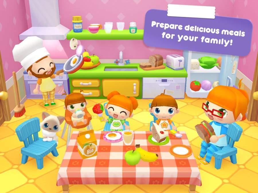甜蜜家庭故事游戏