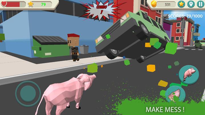 疯狂小猪模拟器下载