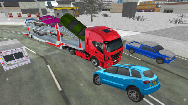 欧洲拖车拖车模拟器下载