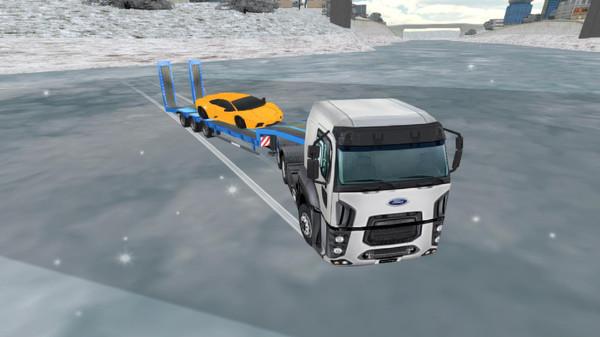 欧洲拖车拖车模拟器