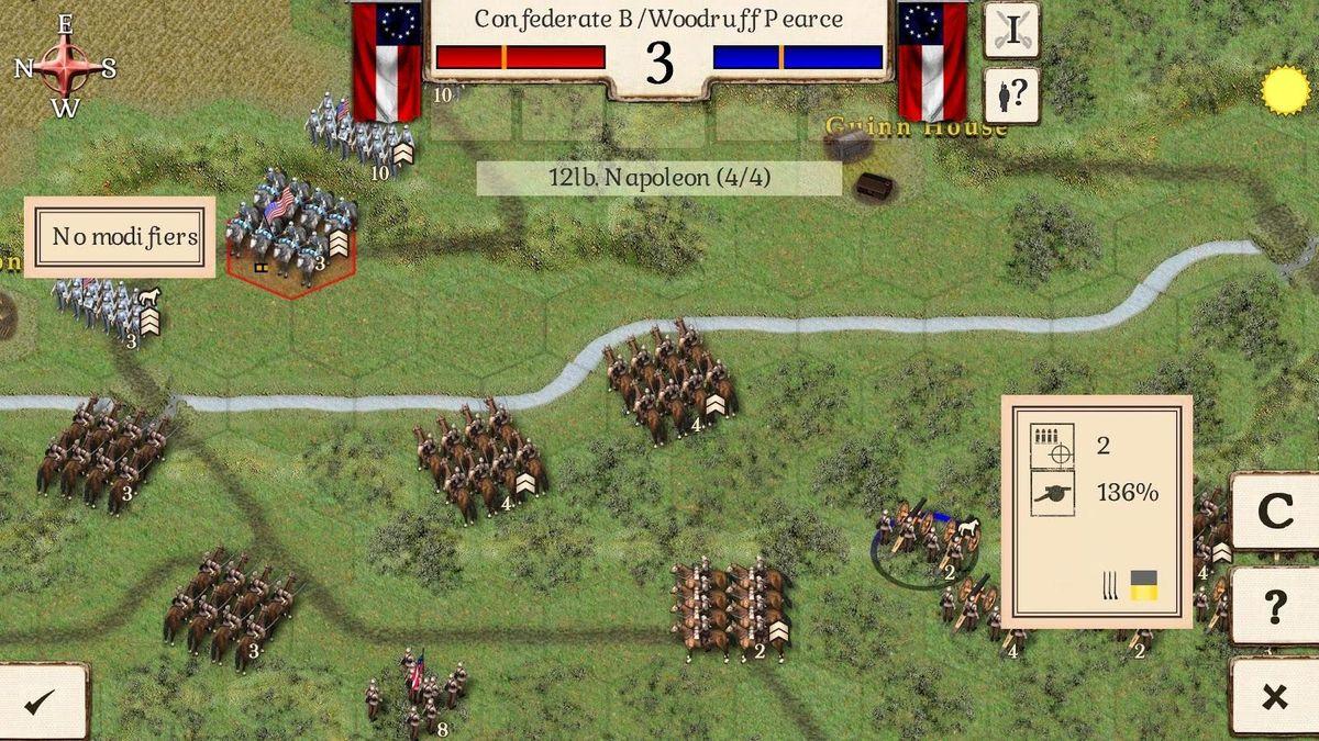 美国内战对决