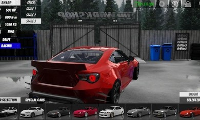 赛车与漂移模拟