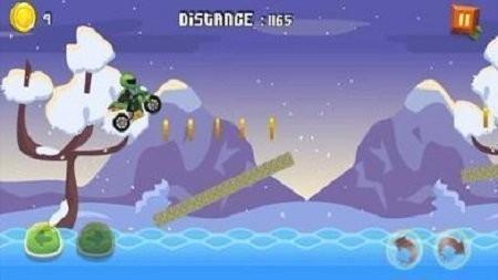 摩托车山地赛车中文版