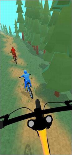 疯狂自行车赛无限金币版