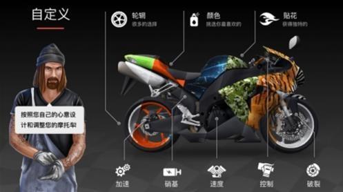 疯狂摩托车中文破解版