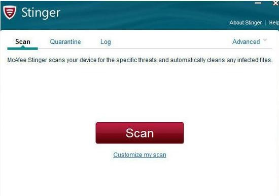 McAfee AVERT Stinger安全版下载