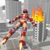 飞行超级英雄机器人内购破解版