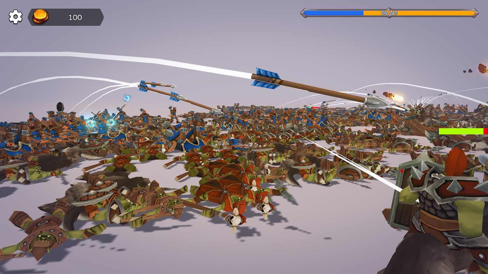 史诗3D战争破解版无限金币版