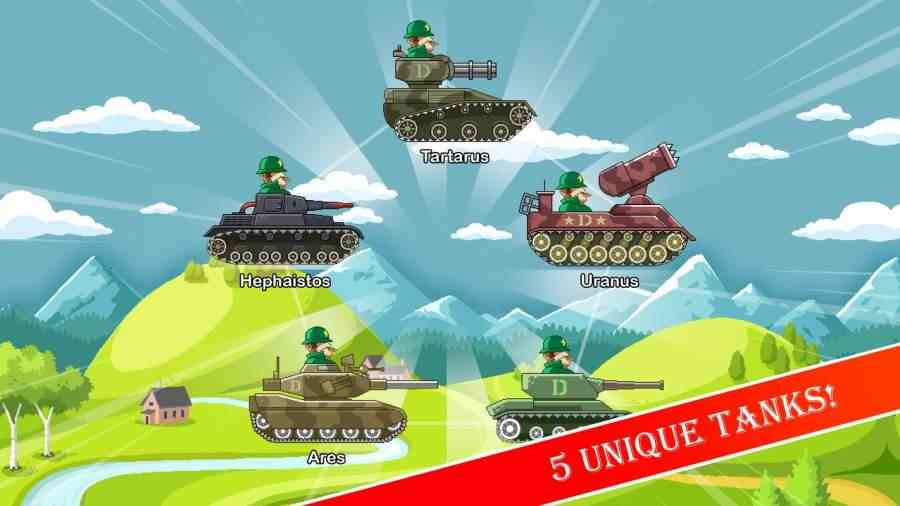 有趣的坦克无限金币破解版