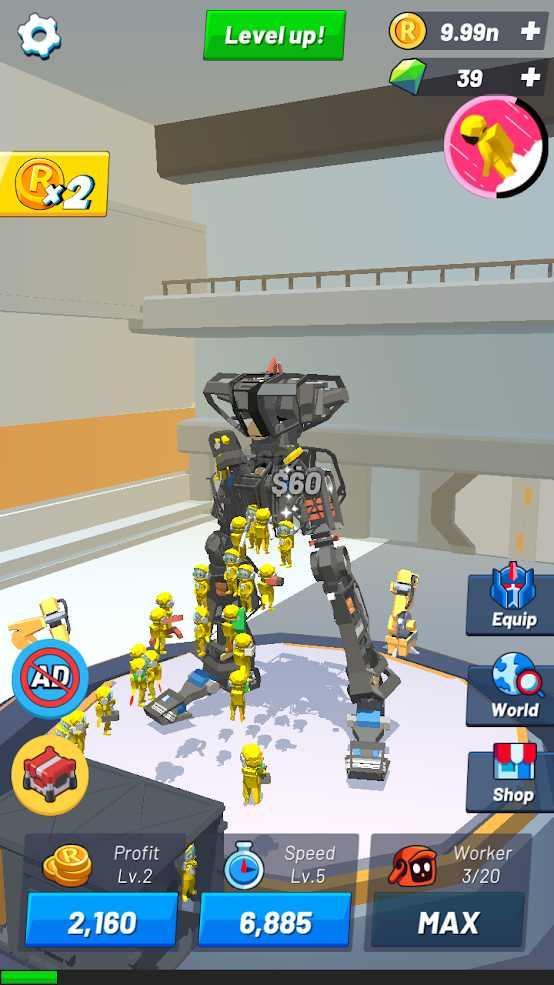 机器人生成器安卓游戏