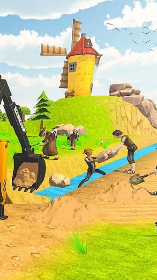 农庄挖掘机模拟器官方版下载