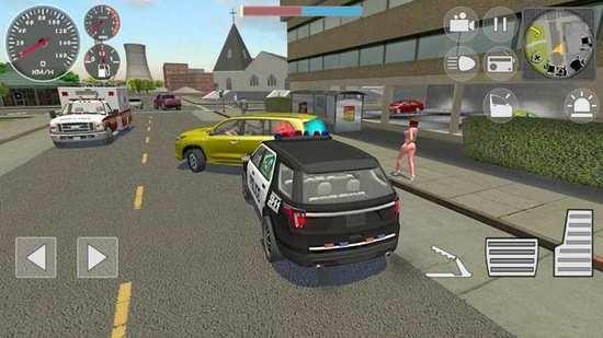 警察模拟器:巡逻任务中文版游戏