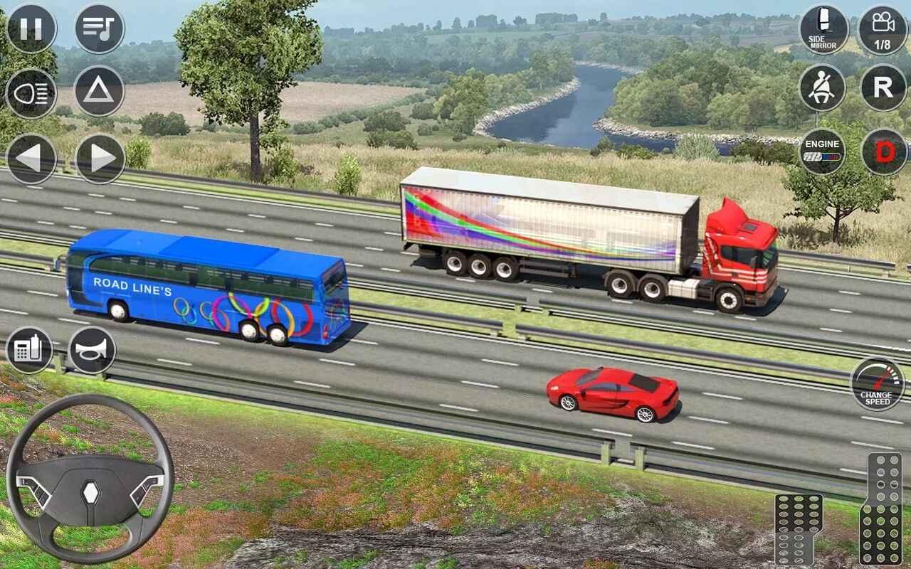 欧洲卡车驾驶模拟器3D最新版