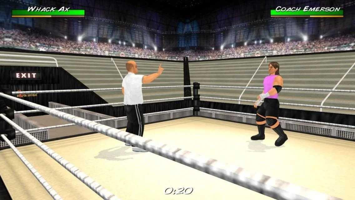 摔角革命3D中文破解版