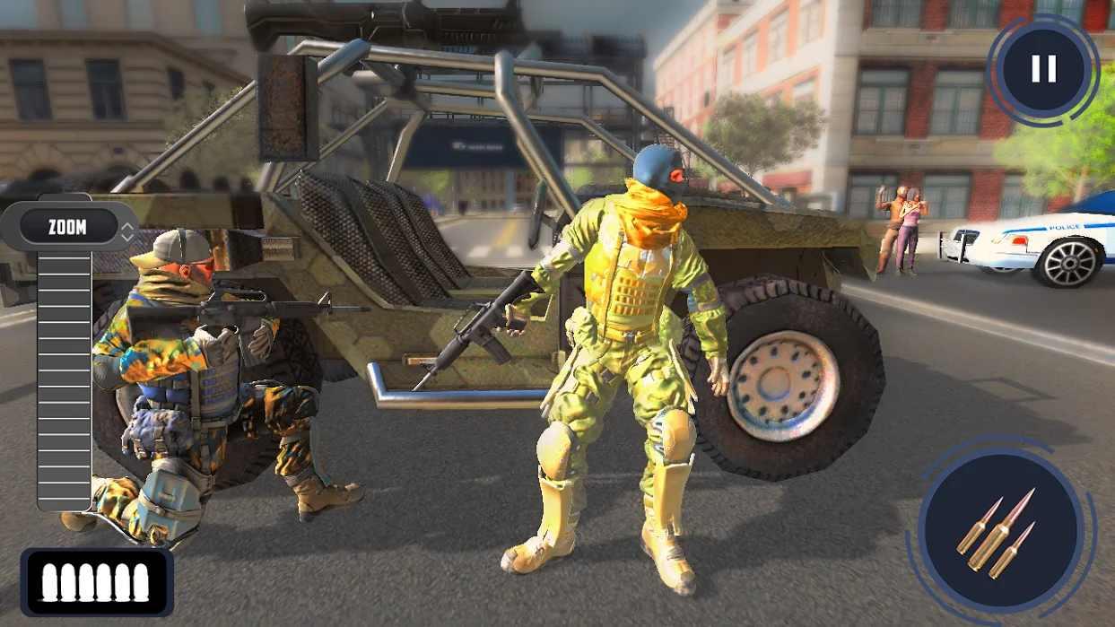 新狙击手3D无限金币版