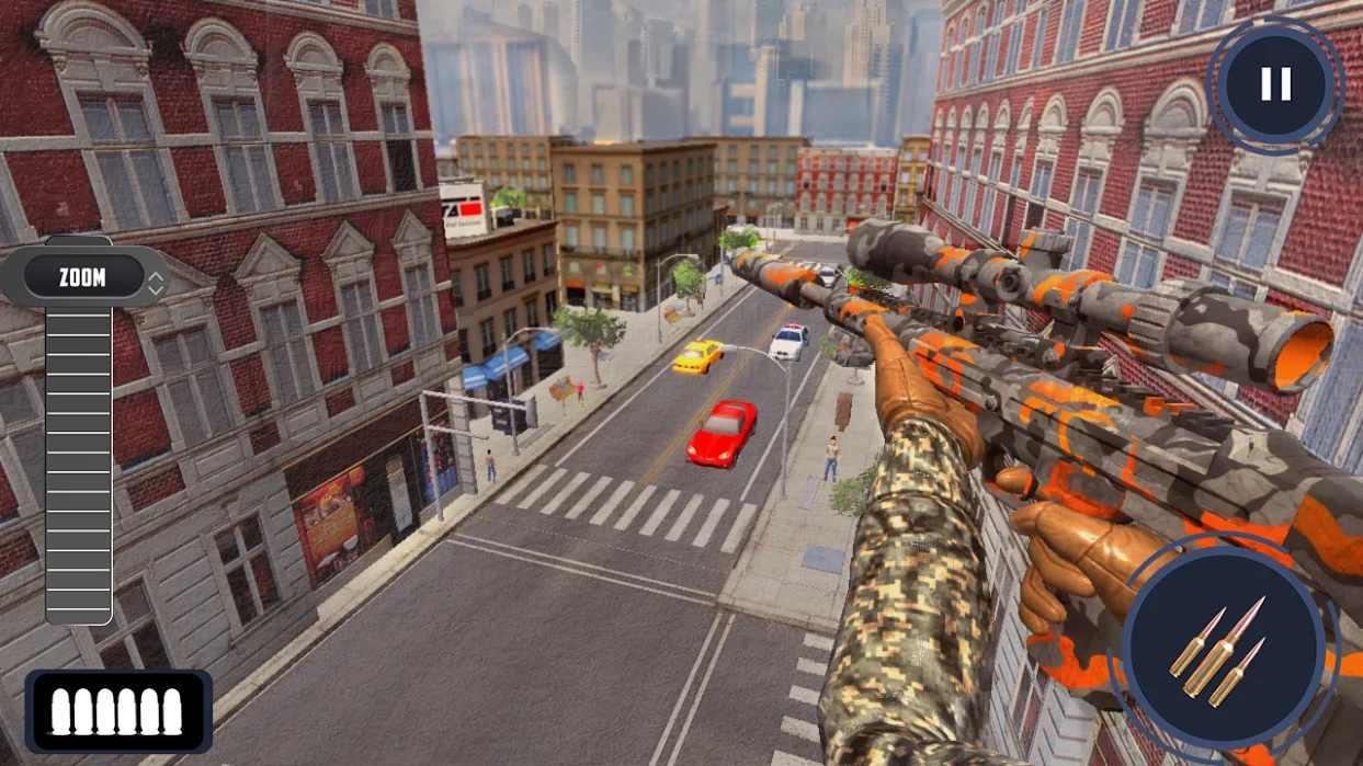新狙击手3D手机游戏