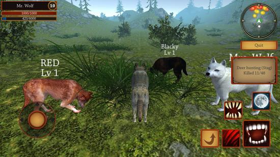 狼进化模拟器安卓版下载v1.0.2.5