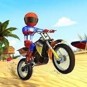 沙滩自行车特技最新版